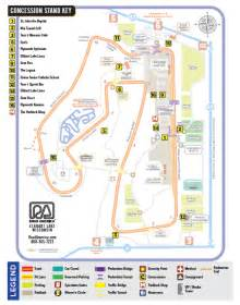 Road America Map by Maps Elkhart Lake S Road America Inc