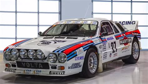 picking up a lancia rally 037 b from prague to