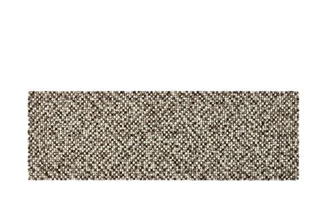 filzkugel teppich filzkugel teppich felting grau meliert 80 x 250 cm