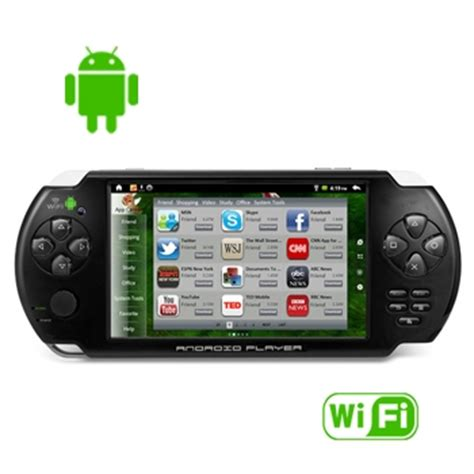 console on android psp touch screen android console mp3 player