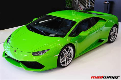 Lamborghini Lime Green Paint Code Verde Mantis Lambo Huracan Madwhips