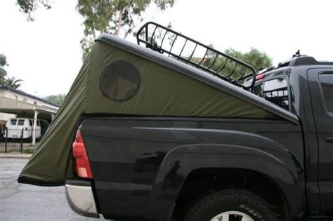 truck bed cer diy tonneau tent tacoma world forums pickup truck cing