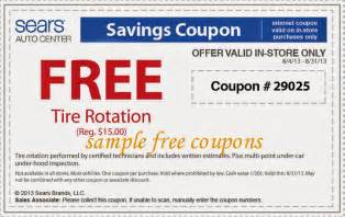 Tires At Sears Coupons Sears Auto Center Coupons This Is New Expired On May 31 2014