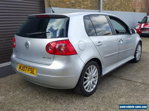 Volkswagen Tdi For Sale by 2007 Volkswagen Golf Gt Tdi 140 For Sale In The United Kingdom
