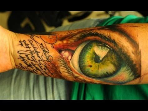 best 3d tattoo artist best new in the world best artists in