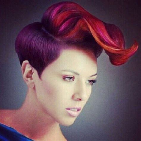 Fun Hair Colors For Over 65 | fun hair color hairstyles pinterest