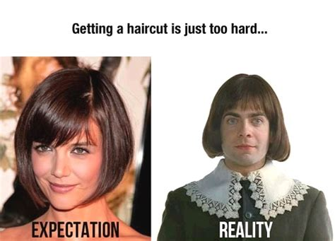 bob hair meme 15 expectation vs reality memes which are too funny