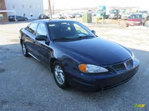 Blue Pontiac Grand Am Navy Blue Metallic 2004 Pontiac Grand Am Se Sedan Exterior