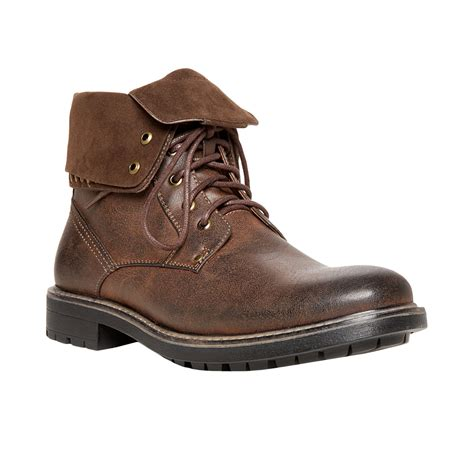 mens boots steve madden madden mens shoes mylow boots in brown for