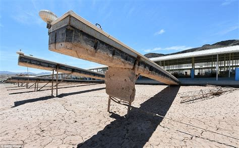 fourteen year drought leaves lake mead at all time low - Boat Slip Cost Lake Mead