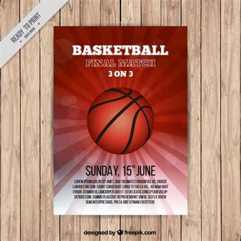 basketball c brochure template basketball brochure template vector free