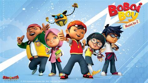 film kartun global tv film animasi anak boboiboy terdongo