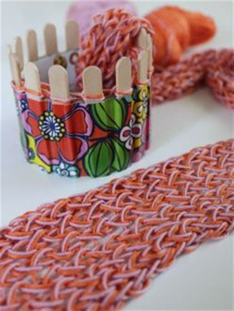 what can you knit on a loom knitting with popsicle stick loom this link actually has