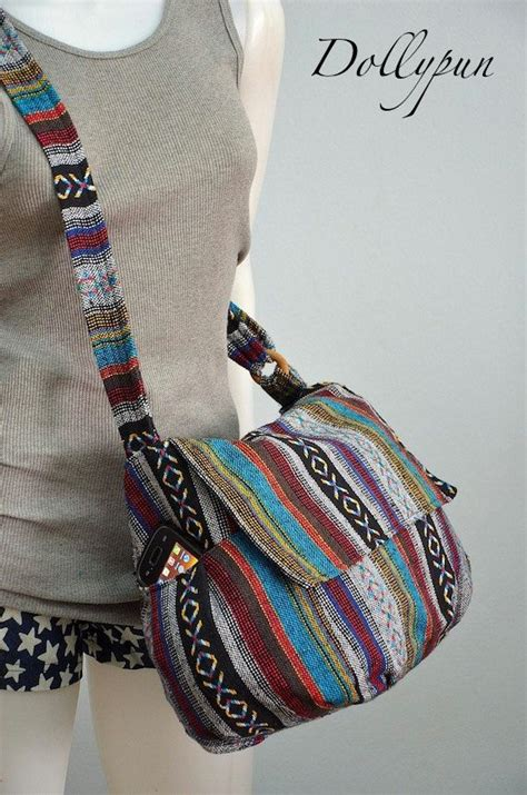 Nepali Handmade Bags - hippie messenger bag handbags nepali woven bag