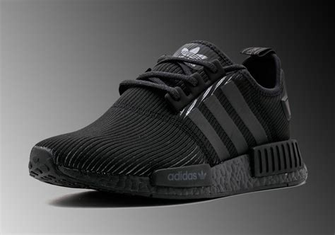 adidas nmd r1 black by3123 sneakernews
