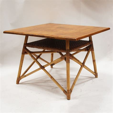 bamboo accent table ebth bamboo side table ebth