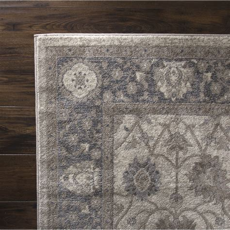 Beige And Gray Area Rugs Plyh Vintage Gray Beige Area Rug Wayfair