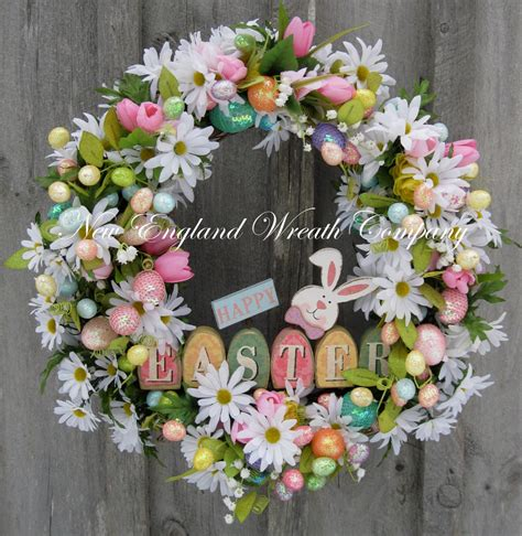 Easter Wreath | 26 creative and easy handmade easter wreath designs style motivation