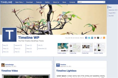 themes like facebook great facebook like wordpress theme pictures inspiration