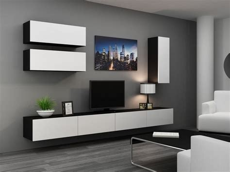 Latest Wall Units Designs Living Room   Coma Frique Studio