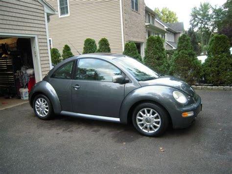 2004 Volkswagen Bug by Sell Used 2004 Volkswagen New Beetle Bug Gls Platinum Gray