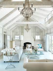 Coastal Livingroom Nantucket Beach Cottage With Coastal Interiors Home