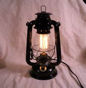 Electric Lantern Table L Black Electric Lantern Industrial Table L Hanging Lighting
