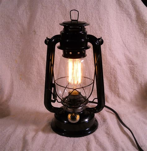 Outdoor Electric Lights Black Electric Lantern Industrial Table L Hanging Lighting