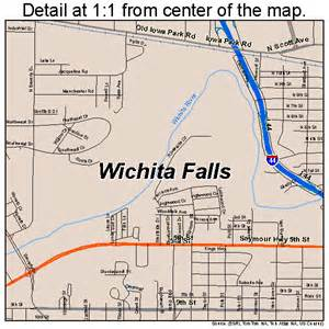 wichita falls map 4879000
