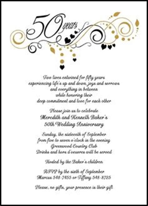 Wedding Anniversary Lunch Ideas by Finding The Right Wedding Anniversary Invitation Wording