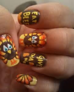 10 festive thanksgiving nail art ideas