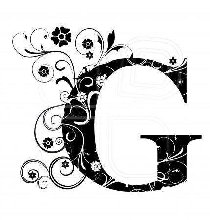 G Drawing Design by Letter Capital G Alphabet Arabic Letters A