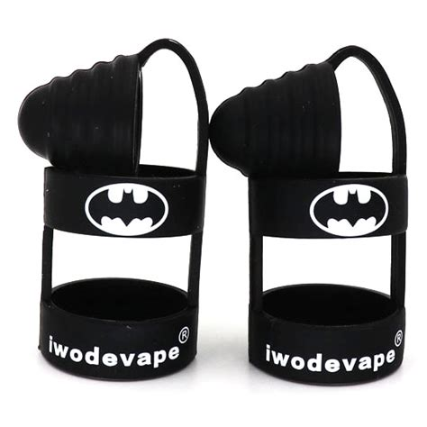 Vape Band Vape Rubber Band Vaporizer batman rubber band vape dengan drip tip cap black