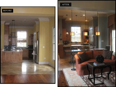 before and after decor before and after interior design