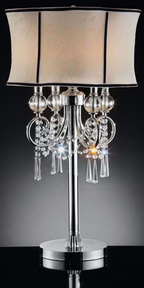 hanging crystal table l juliana polished chrome hanging crystal table l from