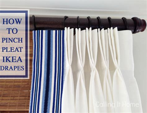 how to make pinch pleat drapes cottage and vine friday link love
