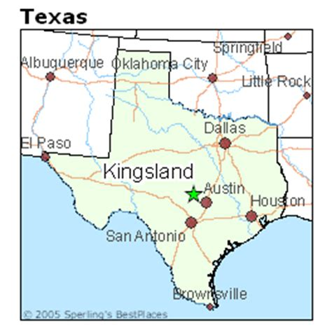map of kingsland texas best places to live in kingsland texas