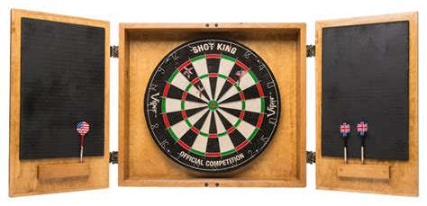 Dartboard And Cabinet by Wine Crate Dartboard Cabinet Rustic Darts And