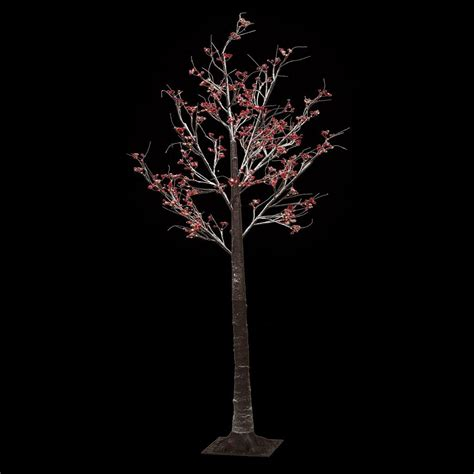 christmas pre lit twig 120 led floor standing 7ft 210cm