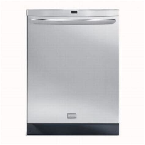 Frididaire Dishwasher Stainless Steel Dishwasher Frigidaire Stainless Steel
