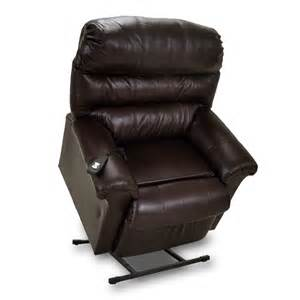 leather lift recliner in brown mcgregors furniture