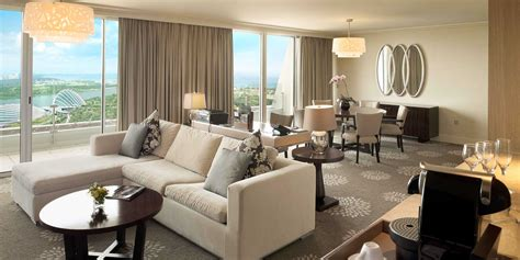 living room suits sands suite in marina bay sands singapore hotel