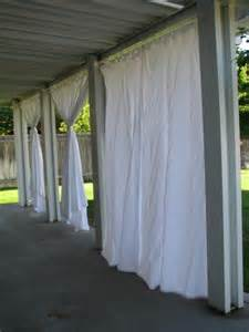Outdoor Patio Curtains by Everyday Expressions Patio Revamp Stage 2 Outdoor