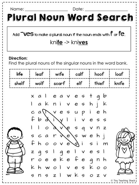 printable noun word search free irregular plural noun word search h o m e w o r k