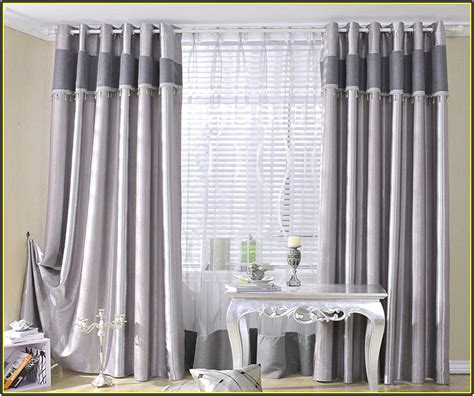Gray And White Blackout Curtains Gray And White Blackout Curtains 25 X 96 Inch Blackout Lined Grey Zig Zag Grommet Curtains