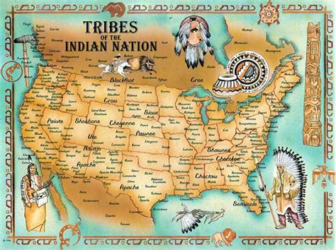 american tribes by map tribes of the indian nation map maps maps maps