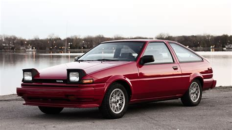 red toyota pin corolla ae80 on pinterest