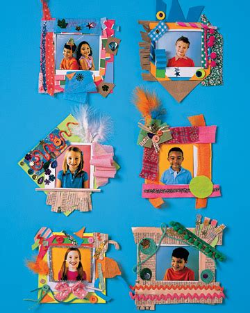 picture frame craft projects paper picture frame family crafts