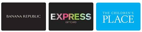 Children S Place Gift Card Discount - save 15 off express banana republic the children s place gift cards kollel budget