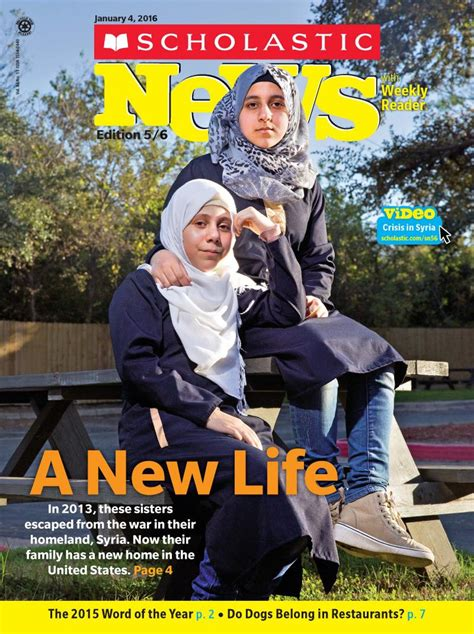 scholastic news new year my scholastic news cover story about a nine year